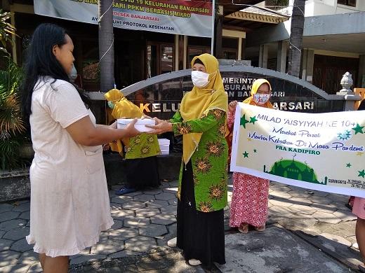 Milad 'Aisyiyah ke 104 M/107H dan Halal Bihalal 1442 H PDA Kota Surakarta
